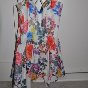 Lovers and Friends Floral Mini Dress
